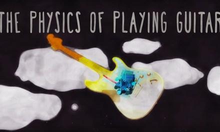The physics of playing guitar – Oscar Fernando Perez