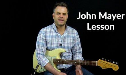 John Mayer Blues Lesson