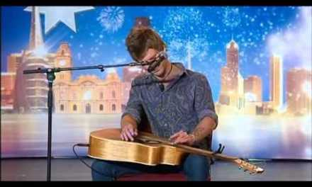 Owen Campbell – Angry Busker –  Australia's Got Talent 2012 audition 3 [FULL]