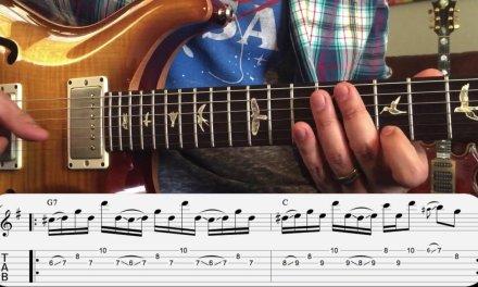 Trey Anastasio Guitar Lesson – The Anchor Slide Soloing Technique (12/9/1995 YEM)