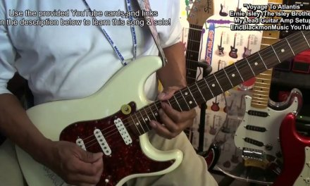 Ernie Isley Style LEAD GUITAR / AMP Solo Minimum Pedal Setup EricBlackmonGuitar HD