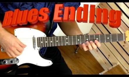 Blues Ending – Guitar Lesson