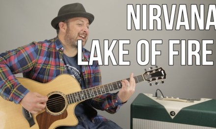 Nirvana – Lake of Fire – Acoustic Guitar Lesson – Meat Puppets – Nirvana Unplugged