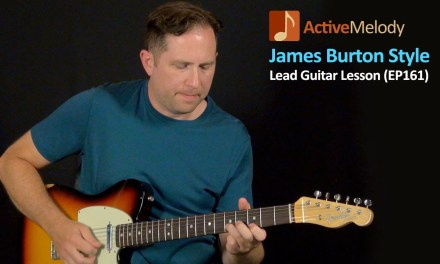 James Burton Guitar Lesson – Lead Guitar Lesson in the style of James Burton – EP161