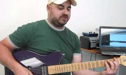 guitar lesson soloing over chords – chordal tones and major scale