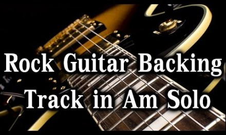 Epic Guitar Backing Track in A Minor – Solo (80 bpm)