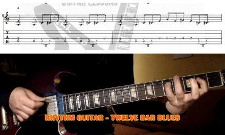 12 Bar Blues GUITAR LESSON with TAB