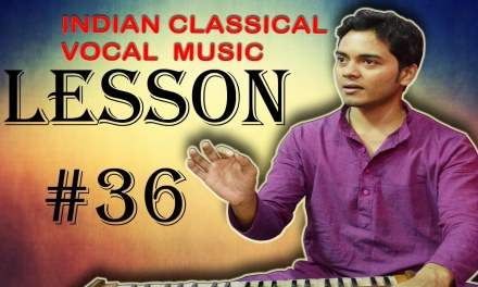 Learn Indian classical music vocal Lesson #36 Chalan Palta 3