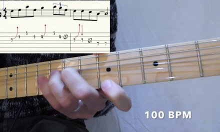Blues lick in pillole #1 – Guitar lesson with TAB