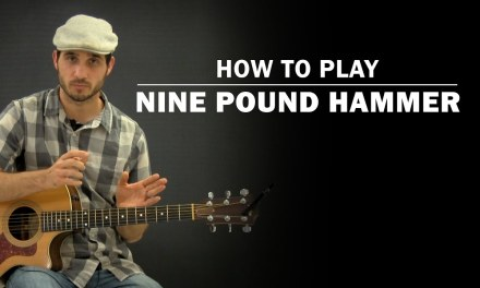 Nine Pound Hammer | How To Play | Beginner Guitar Lesson