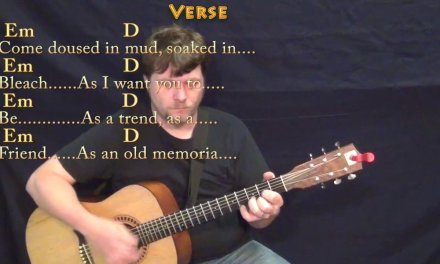 Come As You Are (Nirvana) Guitar Lesson Chord Chart with Chords/Lyrics