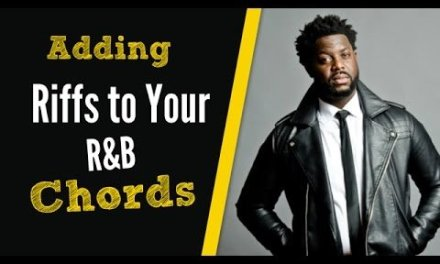 How to add riffs to your R&B Chords- Guitar lesson