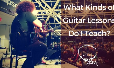 What Kinds of Guitar Lessons Do I Teach?