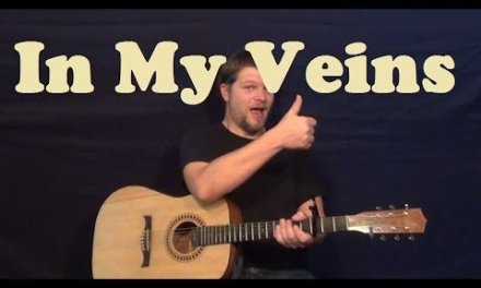 In My Veins (Andrew Belle) Guitar Lesson Easy Strum Chords How to Play Tutorial