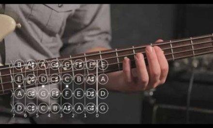 How to Play a Major Pentatonic Scale   Bass Guitar