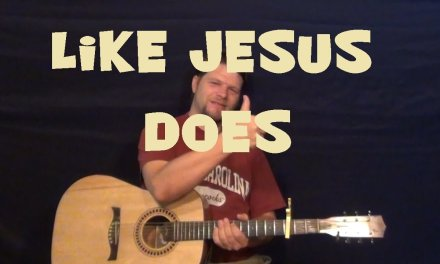 Like Jesus Does (Eric Church) Guitar Lesson Easy Strum Chord How to Play Tutorial C G F Am Dm