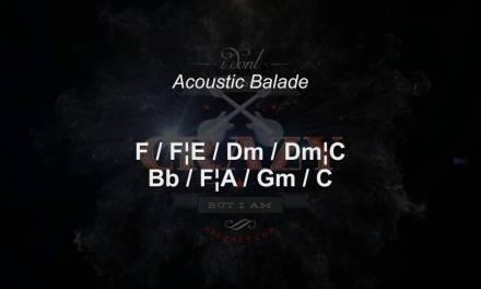 Acoustic Guitar Balade – Backing Track