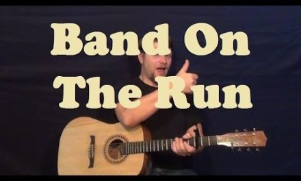 Band on the Run (Paul McCartney) Guitar Lesson Easy Strum Chord How to Play Tutorial