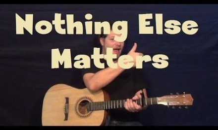Nothing Else Matters (Metallica) Easy Strum Fingerstyle Guitar Lesson How to Play Tutorial