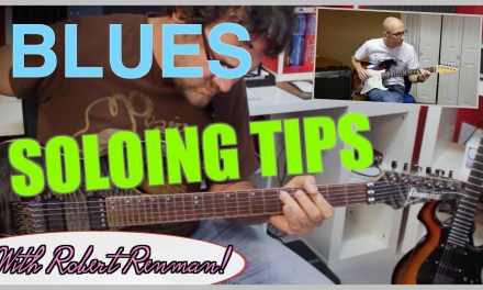 Blues Guitar Solo Lesson – Jam with David Wallimann and Robert Renman