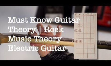 Must Know Guitar Theory   The Major Scale   Rock Music Theory Electric Guitar