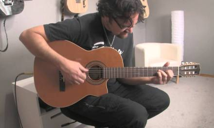 Classical Guitar improv – Godin LaPatrie Concert CWQI
