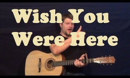Wish You Were Here (Pink Floyd) Guitar Lesson Easy Strum Chords How to Play Tutorial