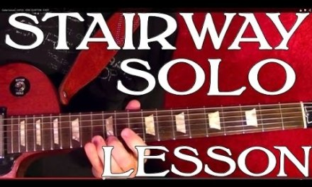 Stairway to Heaven – Solo – Guitar Lesson