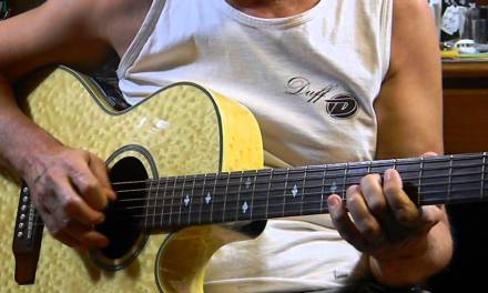 Easy E Blues Chords & Riff  – How to Play Acoustic Blues Guitar in E – L134