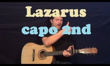 Lazarus (Porcupine Tree) Guitar Lesson Easy Strum Chord How to Play Lazarus Tutorial