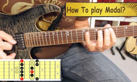 How To Use Modes In Your Guitar Solos – Part 1