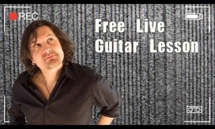 Free Fusion Guitar Lesson
