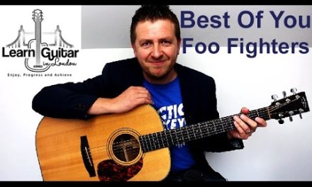 Foo Fighters – Best Of You – Acoustic Guitar Lesson – Drue James