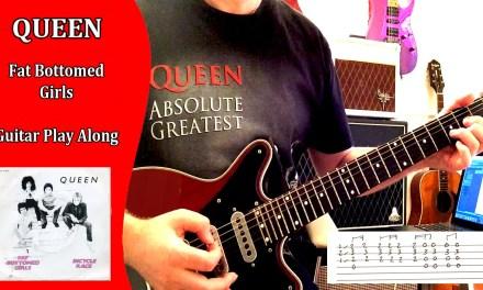 Queen – Fat Bottomed Girls – Guitar Play Along (Guitar Tab)
