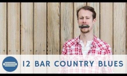 12 Bar Country Blues Harmonica Lesson + Free Harp Tab