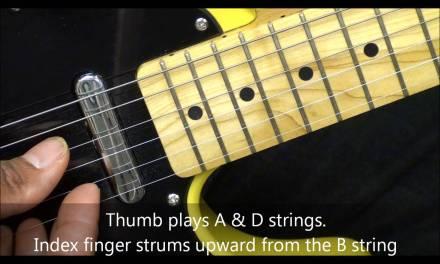 Maps Maroon 5 Style R&B Reggae Fingerstyle Strumming & Picking Pattern Lesson FunkGuitarGuru