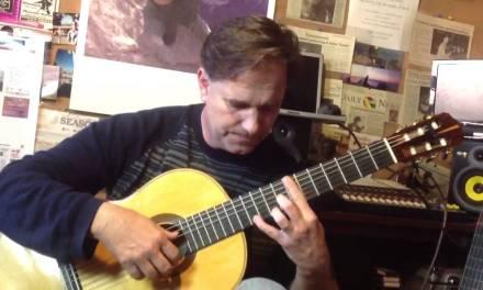 Classical guitar, Adelita, play through and lesson