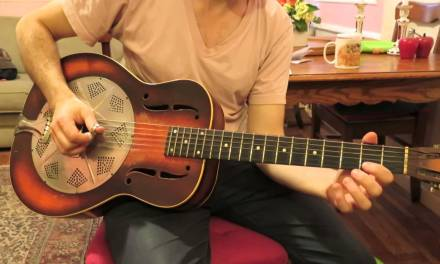 Open G Guitar Lesson – Furry Lewis Version.  Open G Rolling and Tumbling