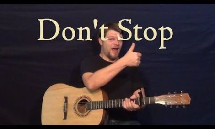 Don't Stop (FLEETWOOD MAC) Guitar Lesson Easy Strum Chords How to Play Beginners