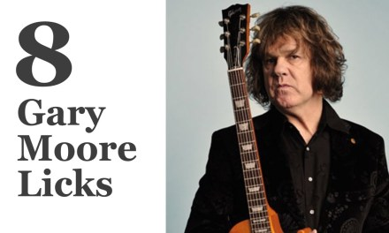 8 Gary Moore Licks – Guitar Lesson with Tabs