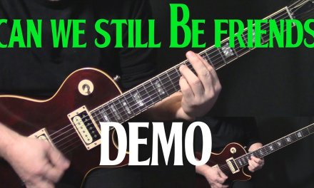 """DEMO   how to play """"Can We Still Be Friends"""" on guitar by Todd Rundgren   guitar lesson tutorial"""