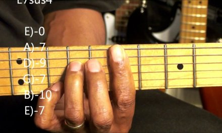 How To Play Funky R&B Guitar Chord Shapes Tutorial #201 Nile Rodgers Style Guitar