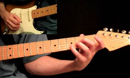Pink Floyd – Comfortably Numb Guitar Lesson Pt.1 – All Rhythm Guitar Parts