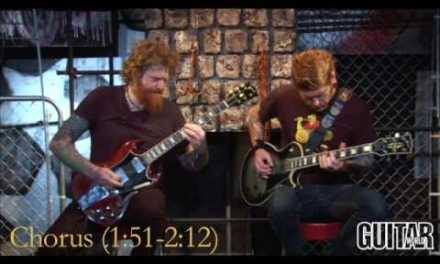 "Mastodon Show How to Play ""Divinations"" Guitar Lessons"