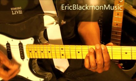 Chic GOOD TIMES Chic Nile Rodgers Electric Guitar Lesson EricBlackmonGuitar HD
