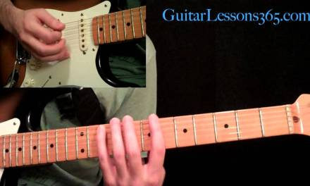 Ozzy Osbourne – Bark At The Moon Guitar Lesson Pt.2 – Main Solo & Outro Solo