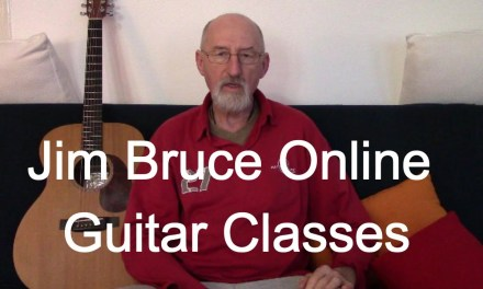 Acoustic Blues Guitar Lessons Online – New Orleans by Jim Bruce