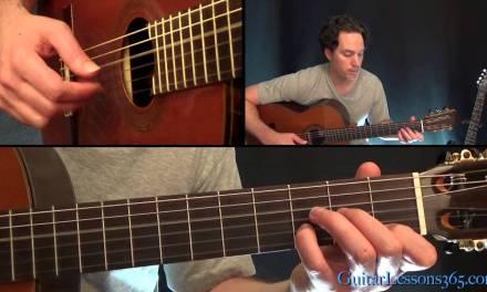 Slash – Anastasia Guitar Lesson Pt.1 – Acoustic Intro