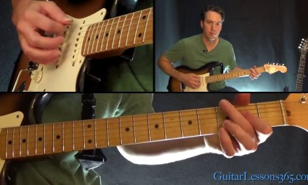 Everybody Wants To Rule The World Guitar Lesson – Tears for Fears