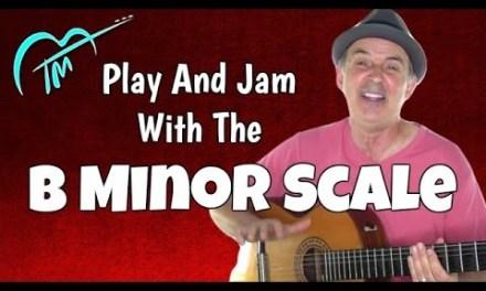 B Minor Scale And Easy Flamenco Jam